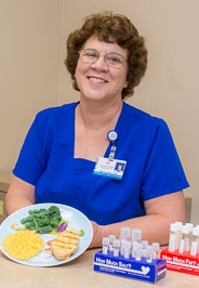 diabetes educator, Sue Ullrich